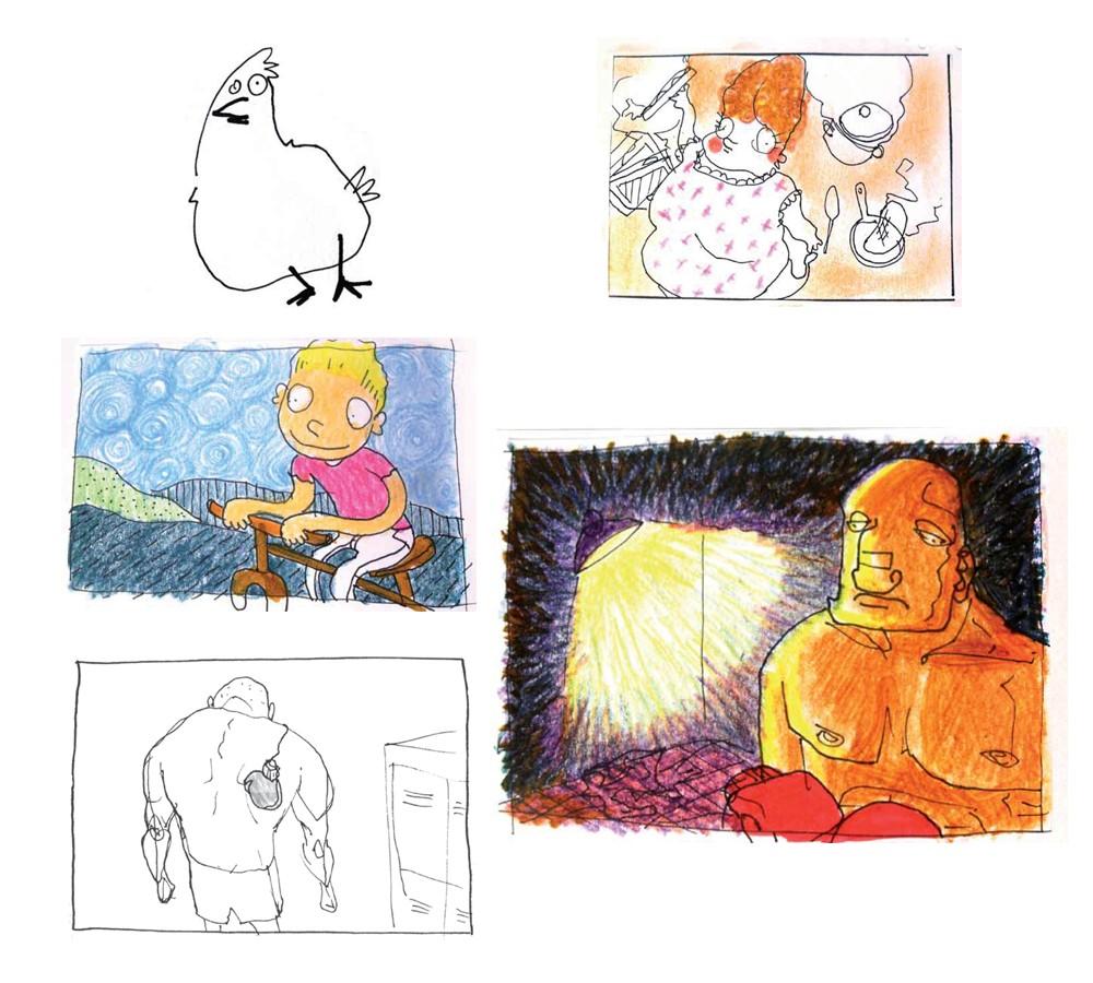 Photo, dessin, wallpaper et créations graphiques de la Comunauté!!! - Page 3 Persos10