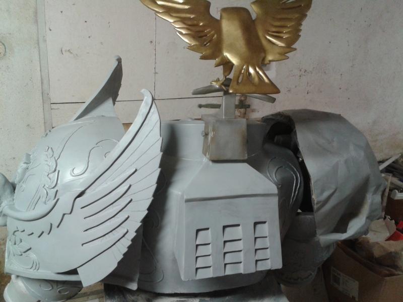 création : l'armure de l'Empereur en taille réelle - Page 4 2011-043