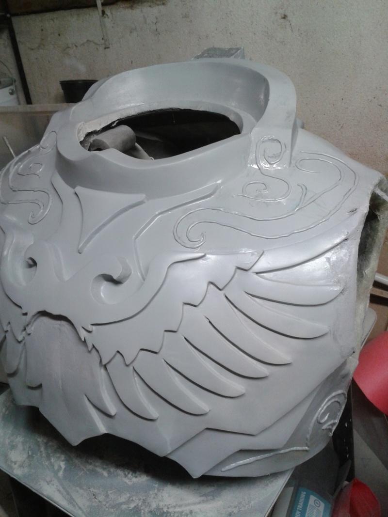 création : l'armure de l'Empereur en taille réelle - Page 4 2011-044