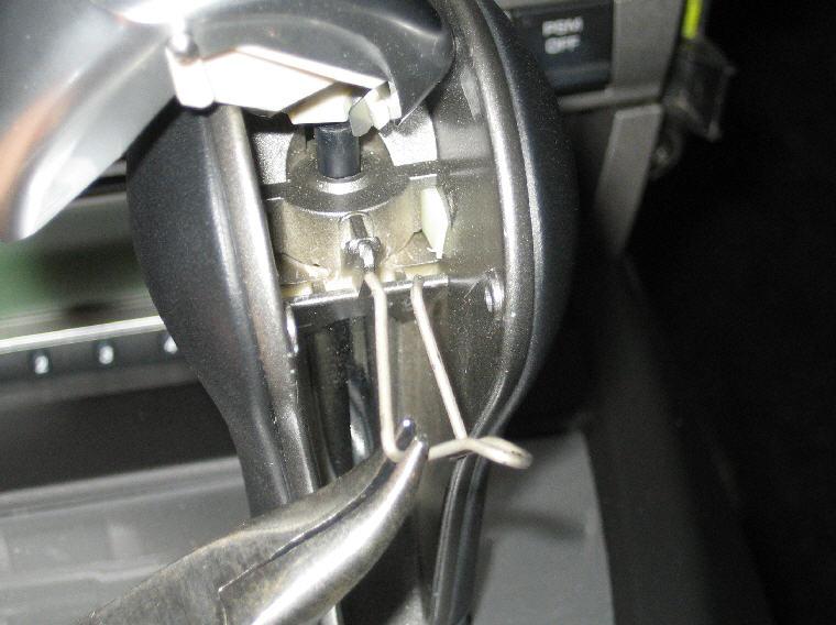 changer l'encadrement tiptronic de la console centrale Attach12