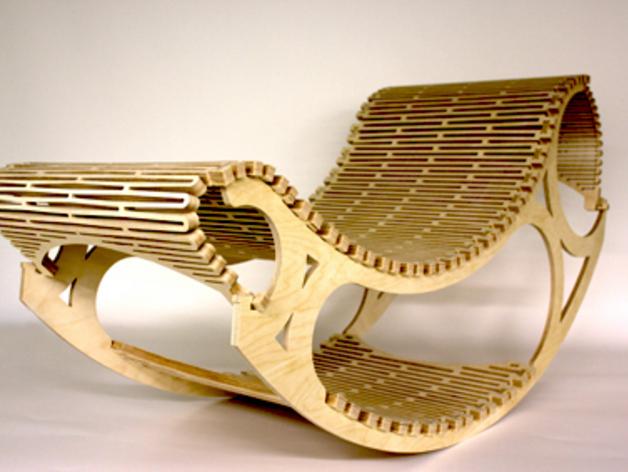 """chaise """"design"""" en CP Rchair10"""