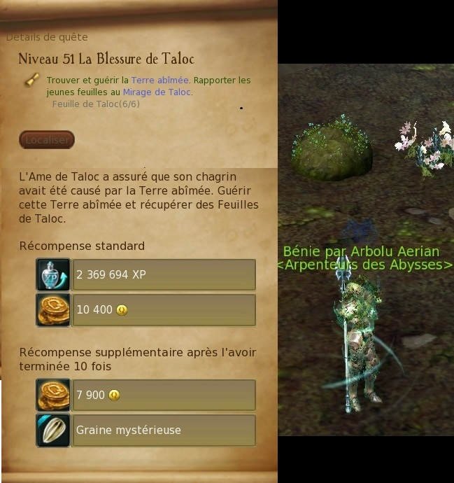 Abîmes de Taloc - Level 51 Blessu12