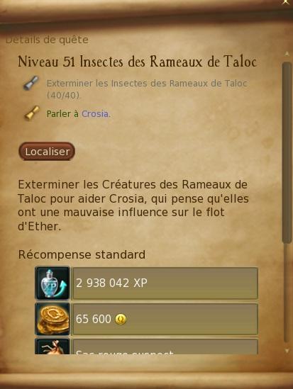 Abîmes de Taloc - Level 51 Insect10