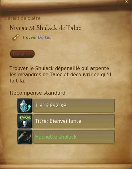 Abîmes de Taloc - Level 51 Shulac10