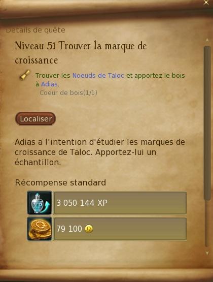 Abîmes de Taloc - Level 51 Trouve10