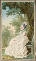 """"""" Pour paraître à la Cour = les habits de Marie-Fortunée d'Este .."""" par Aurélie Chatenet - Calyste Img-110"""