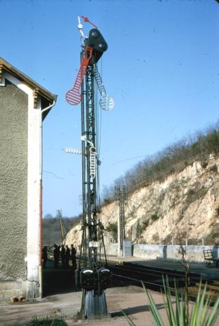 Sémaphores situés au droit des abords du bâtiment des voyageurs Z0363s12
