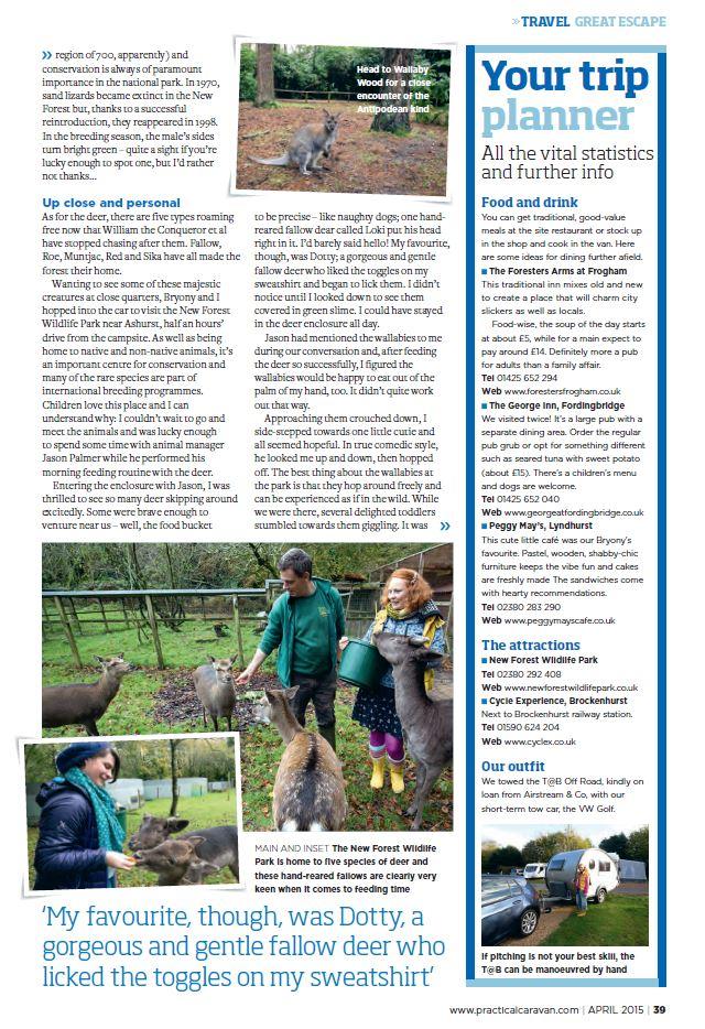 Practical Magazine Avril 2015 Captur30