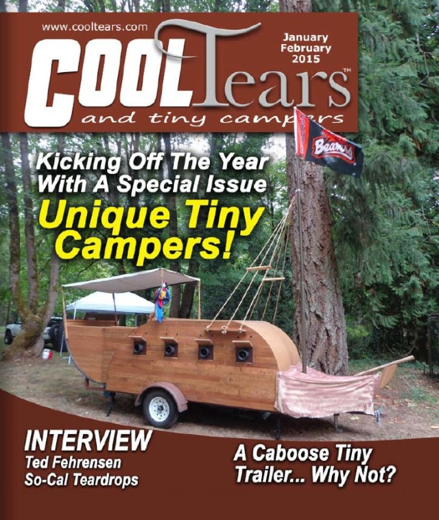 Voici le nouveau numéro du magazine Cool Tears and Tiny Campers Captur33