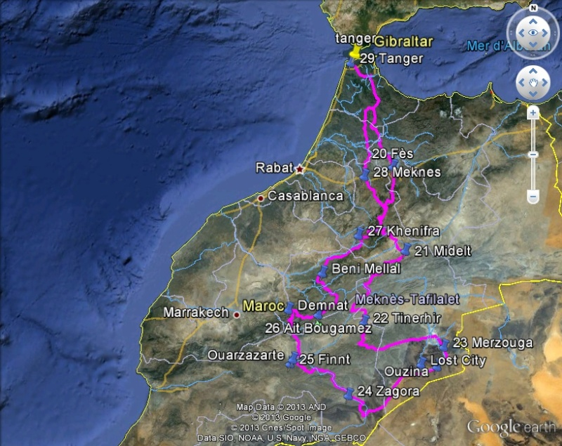 Virée facile Maroc 2015 Google10