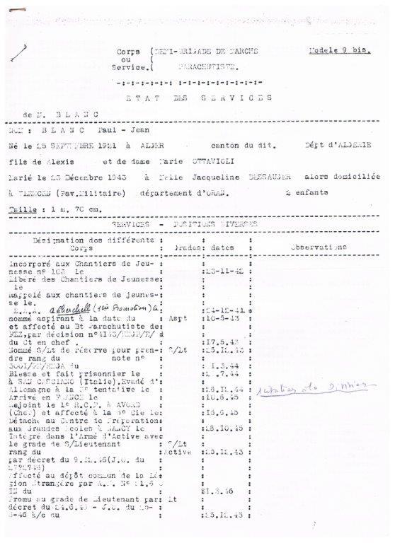 lieutenant paul blanc brevet 1132 mort au combat le 07/04/1948 a caobang 001_213