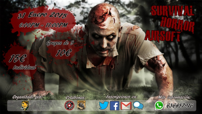 Survival Horror Airsoft | 31/01/2015 Cartel10