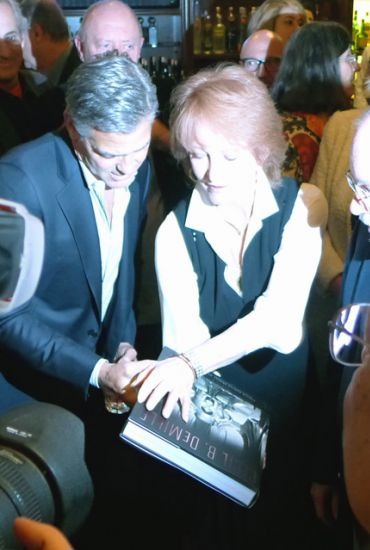 Golden Globe Awards' reception celebrating George Clooney as Cecil B. DeMille Award recipient Book11