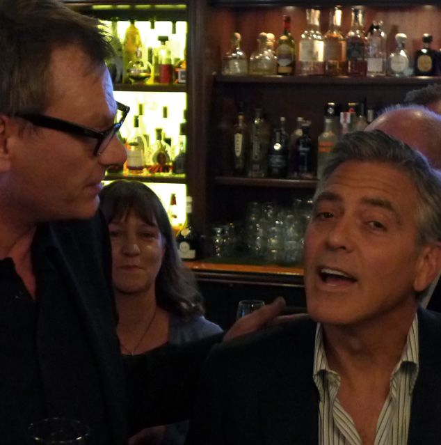 Golden Globe Awards' reception celebrating George Clooney as Cecil B. DeMille Award recipient Book2a10