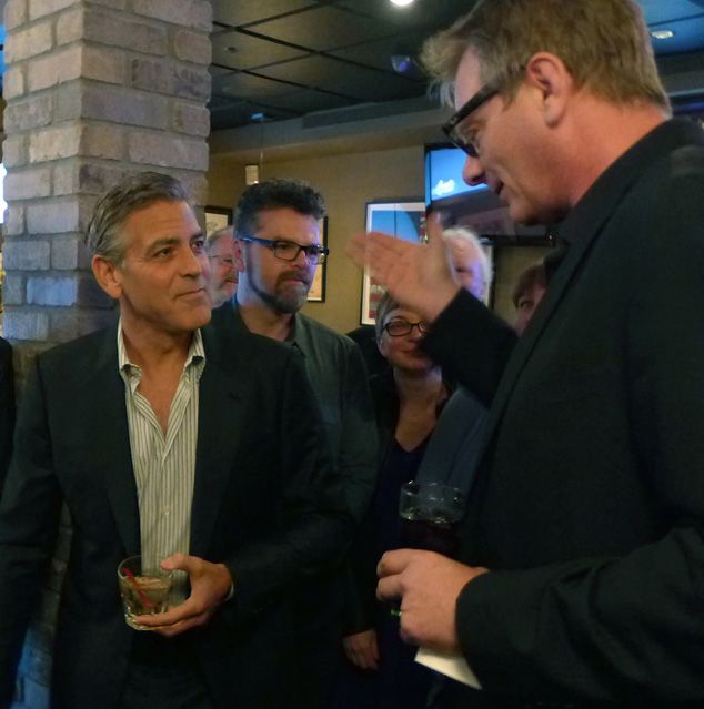 Golden Globe Awards' reception celebrating George Clooney as Cecil B. DeMille Award recipient Book6a10