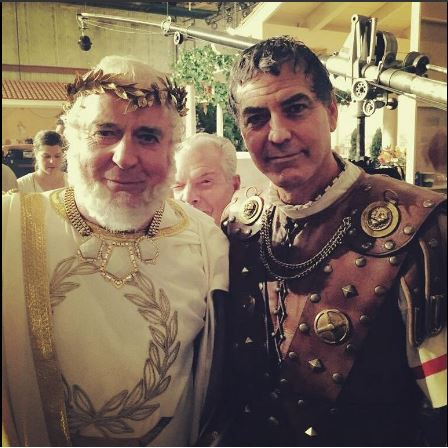 George Clooney on the set of Hail Caesar Cesa10