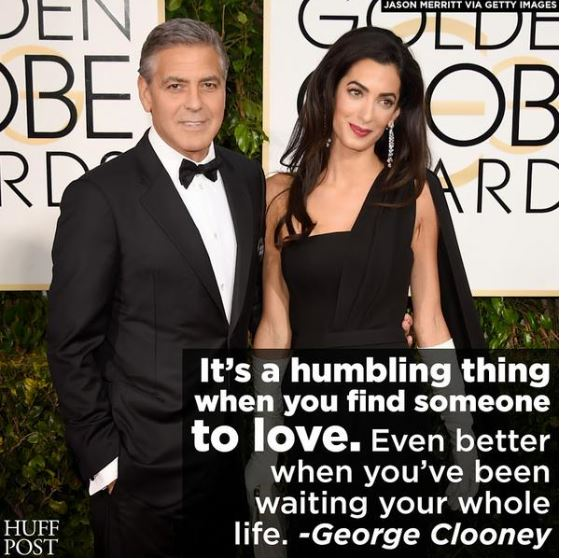 George Clooney at the Golden Globes January 2015 - Page 4 Huf10