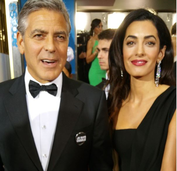 George Clooney at the Golden Globes January 2015 - Page 4 Lip10