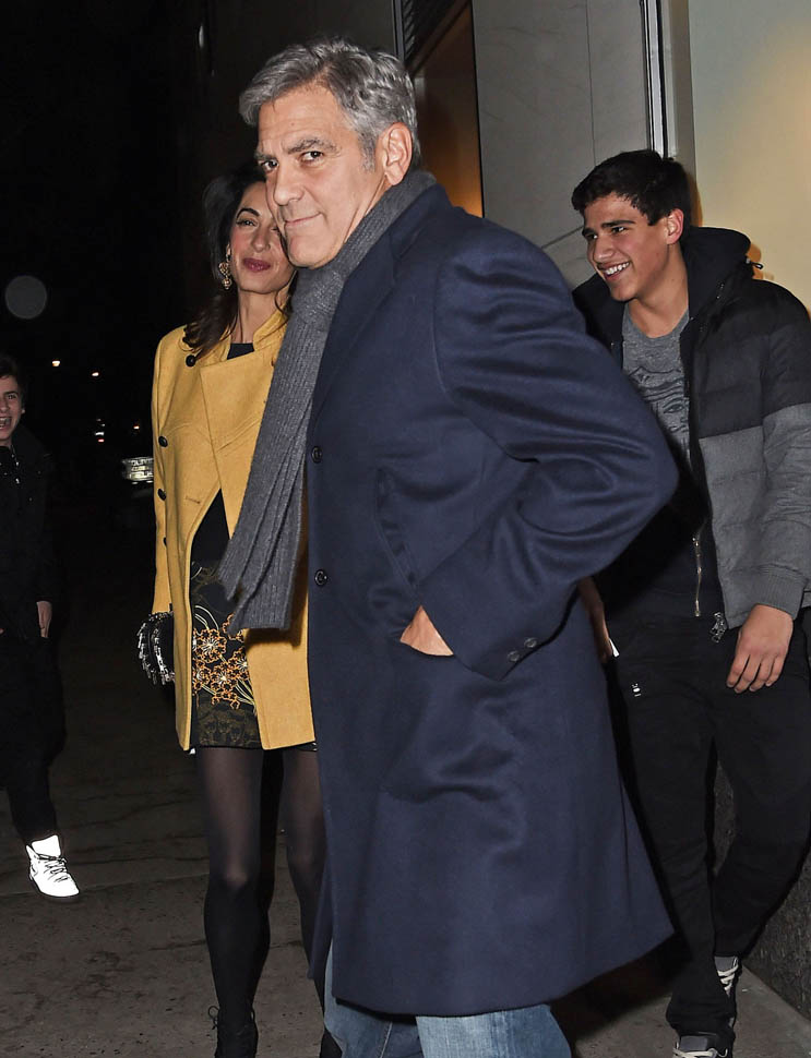 George Clooney and Amal out for dinner on the Upper East Side at Kappo Masa - Page 2 Loo210
