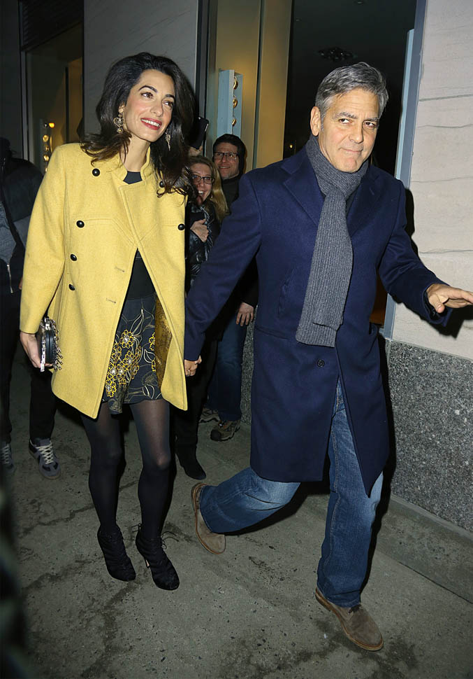 George Clooney and Amal out for dinner on the Upper East Side at Kappo Masa - Page 2 Loo510