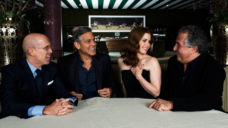 George Clooney at the Oscar night before party 2015 Os210