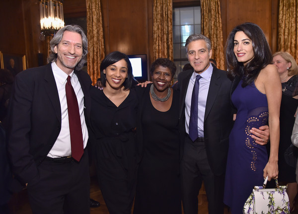 100 LIVES Event: George Clooney Joins Humanitarian Leaders to Launch Global Prize in NYC Sau910