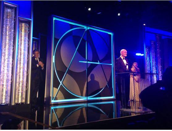 George Presents Art Directors Life Achievement Award, January 31, 2015 Los Angeles Tag1010