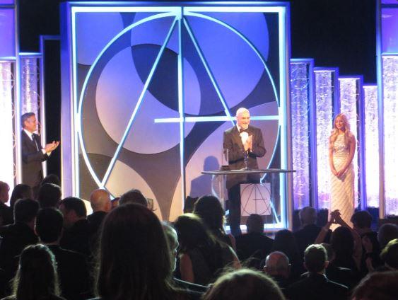 George Presents Art Directors Life Achievement Award, January 31, 2015 Los Angeles Tag1210