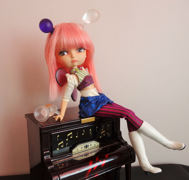 Soom Lila Doll Diablesse Gosty Ghosty et les Pullip  1114