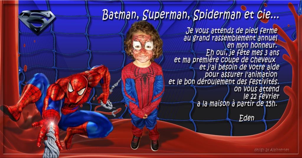 Demande montage pour invitation spiderman Spider10
