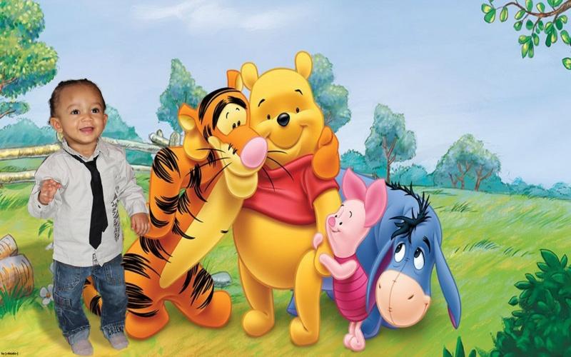 bapteme théme ourson Winnie10
