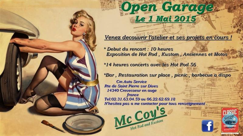 Open garage (14), 1 mai 2015  11003110