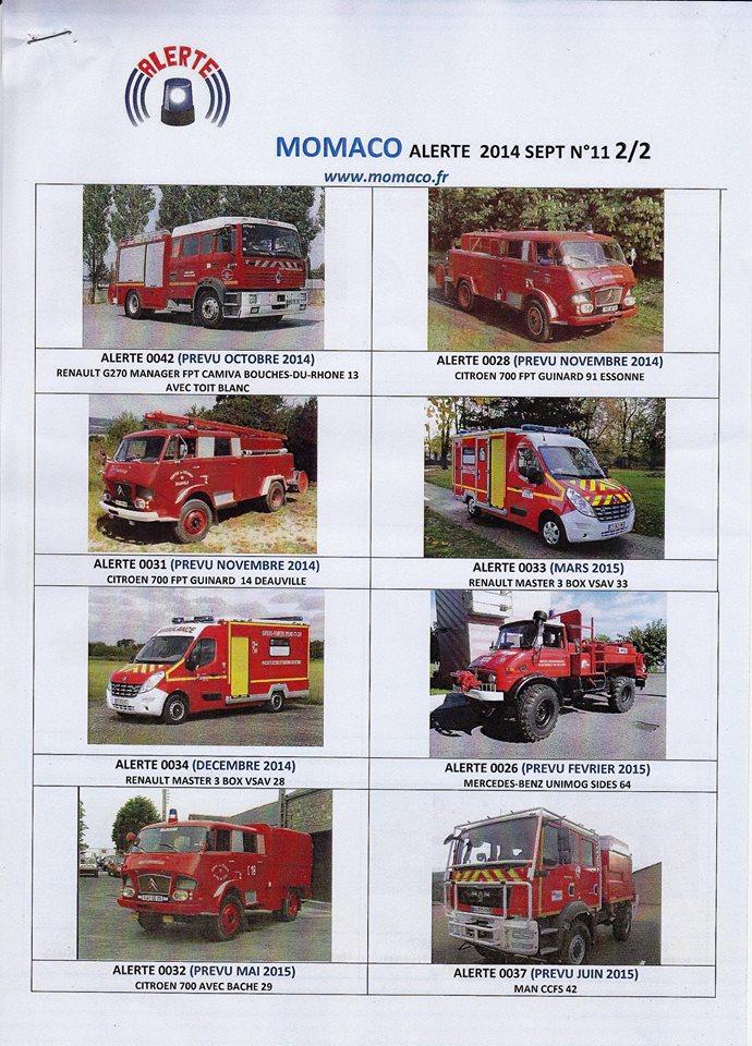 Prochainement Nouveautés Pompier pour 2015 Alerte10
