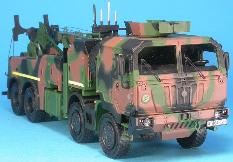 MF48580 PPT Porteur Polyvalent Terrestre 8x8 Armée Française Mf485810