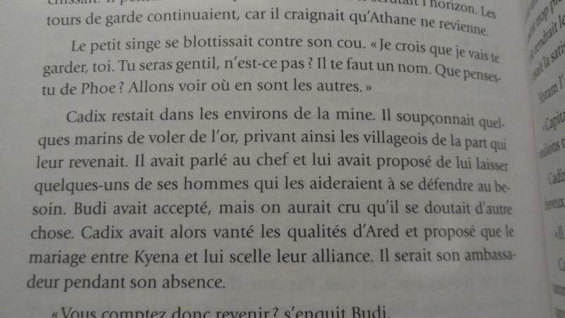 Ophir - Voyage sur les mers (T.1) et La quête de gloire (T.2) [Les Éditions Québec-Livres] - Page 5 Sam_2310