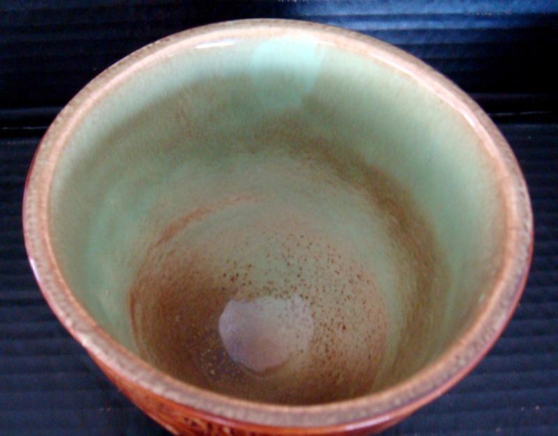A Wharetana 1018 bowl with 3 masked feet ! Dsc06323