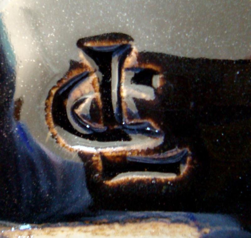 Len castle mug / cup ? No it's not his mark it belongs to Chris Lewis Dsc06523