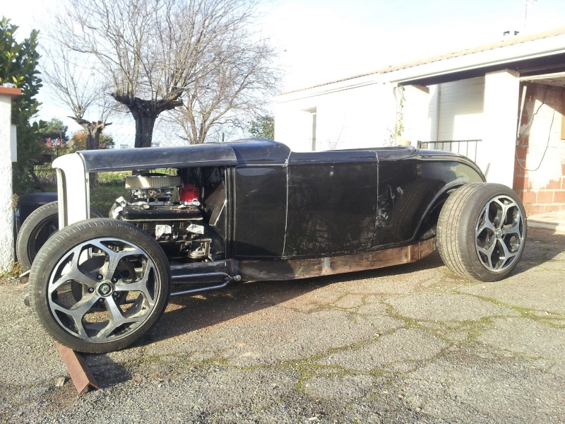 Ford 32 roadster Chassi10