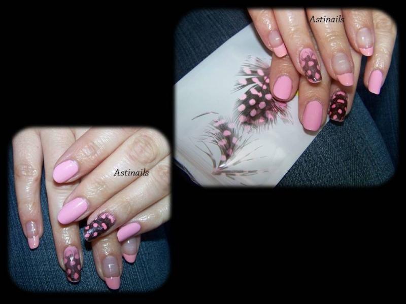 Comment faire un Nail Art avec des plumes Plumes14