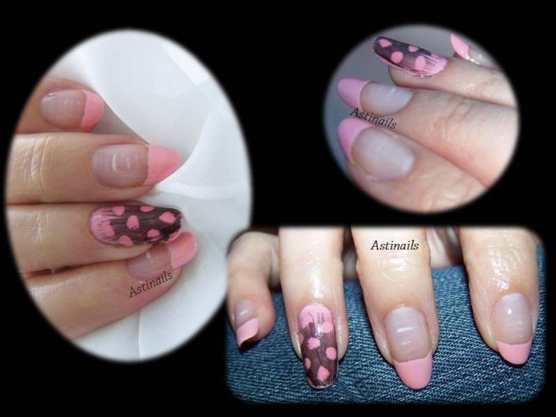 Comment faire un Nail Art avec des plumes Plumes15