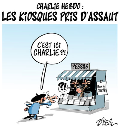 Actu en dessins de presse - Attention: Quelques minutes pour télécharger Dilem_21