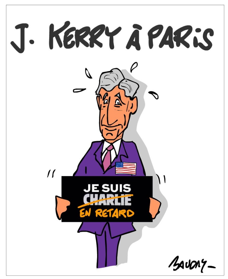 Actu en dessins de presse - Attention: Quelques minutes pour télécharger Kerry10
