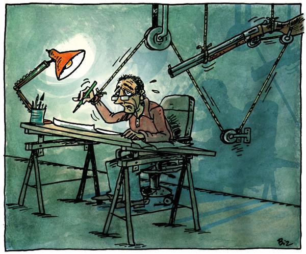 Actu en dessins de presse - Attention: Quelques minutes pour télécharger Ob_44610