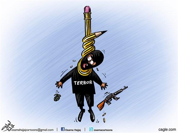 Actu en dessins de presse - Attention: Quelques minutes pour télécharger Osama10