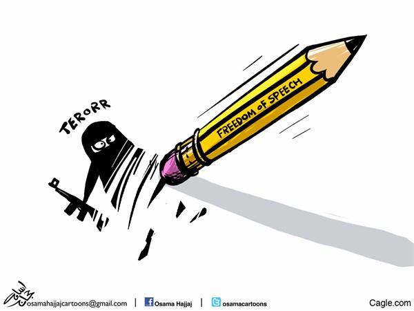 Actu en dessins de presse - Attention: Quelques minutes pour télécharger Osama_10