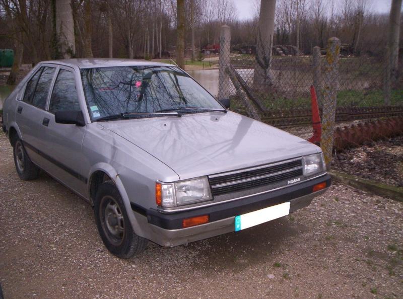 voici ma  DATSUN CHERRY N12  1984 Nissan10