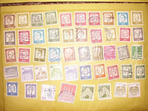 Zahlreiche Briefmarken + Ersttagsbriefe Pict0413