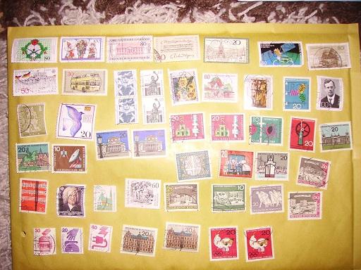 Zahlreiche Briefmarken + Ersttagsbriefe Pict0414