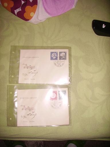 Zahlreiche Briefmarken + Ersttagsbriefe Pict0419