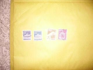 Zahlreiche Briefmarken + Ersttagsbriefe Pict0421